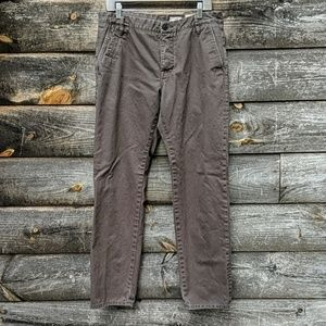 All Saints Volt Chinos Slim Fit Button Fly